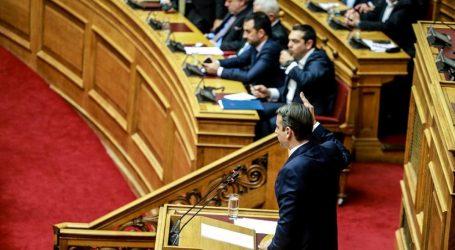 Με «σημαία» το άρθρο 16 στη Βουλή ο Μητσοτάκης- Η ΝΔ ψηφίζει την πρόταση του ΣΥΡΙΖΑ για ΠτΔ