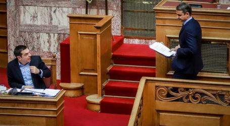 Μονομαχία Τσίπρα – Μητσοτάκη με φόντο τις δημοσκοπήσεις