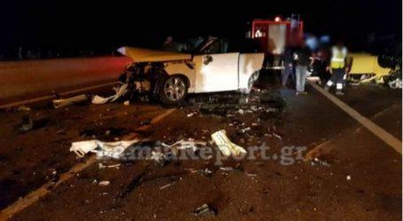Φθιώτιδα: Νεκρή η γυναίκα που οδηγούσε ανάποδα στην εθνική – Σοκάρουν οι εικόνες