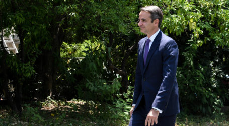 Η εξαγορά δανείων του ΔΝΤ στο τετ α τετ Μητσοτάκη-Μέρκελ – Η κόντρα με τον ΣΥΡΙΖΑ για το πρωτογενές πλεόνασμα