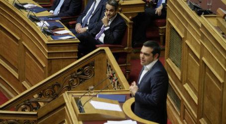 «Καζάνι που βράζει» η Βουλή – Ερώτηση Τσίπρα σε Μητσοτάκη: Τι θα κάνετε με τα εγκλήματα διαφθοράς;