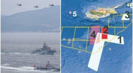 Στο «κόκκινο» η ένταση στην κυπριακή ΑΟΖ – Προκαλούν ανήμερα της μαύρης επετείου του «Αττίλα» οι Τούρκοι (χάρτης)