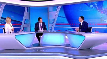 Συνέντευξη Τσίπρα στον ΣΚΑΙ με καρφιά και υψηλούς τόνους – Βίντεο