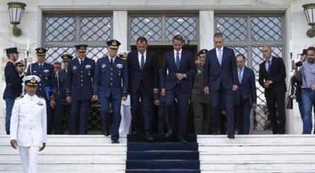 Μητσοτάκης από ΥΠΕΘΑ: Σε πλήρη επιχειρησιακή ετοιμότητα οι Ένοπλες Δυνάμεις