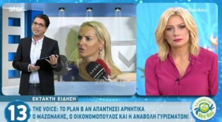 Γιώργος Μαζωνάκης: Ανάμεσα σε ΑΝΤ1 και ΣΚΑΪ και στη μέση η Μαρία Μπεκατώρου