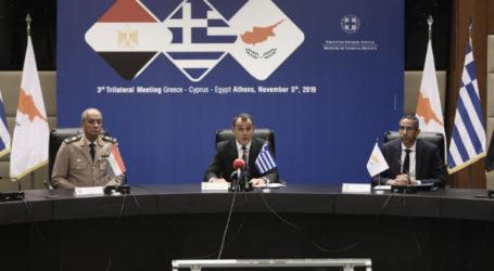 Τριπλό «χαστούκι» στην Τουρκία – Καταδίκη της τουρκικής προκλητικότητας από τους ΥΠΑΜ Ελλάδας – Κύπρου και Αιγύπτου