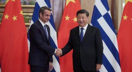 Κινέζος Πρόεδρος σε Μητσοτάκη: Δυνατότητα να γίνει η Ελλάδα κέντρο logistics