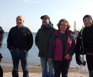 Γιάννης Ζερβός: Επιθεώρηση σε λιμενικές υποδομές των Σφακίων