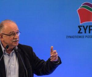 Σφοδρή επίθεση του Δημήτρη Παπαδημούλη στις τάσεις του ΣΥΡΙΖΑ, όπως λειτουργούν σήμερα