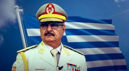 Το «ευχαριστούμε Ελλάδα» του στρατού του Χαφτάρ στο Twitter και οι φωτογραφίες από την επίσκεψη