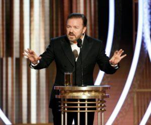Χρυσές Σφαίρες: Ο Ricky Gervais δεν άφησε τίποτα όρθιο!