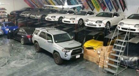 Έρευνα της αστυνομίας αποκαλύπτει μια απίθανη συλλογή με σπάνιες Toyota Supra, BMW M3 κ.α.